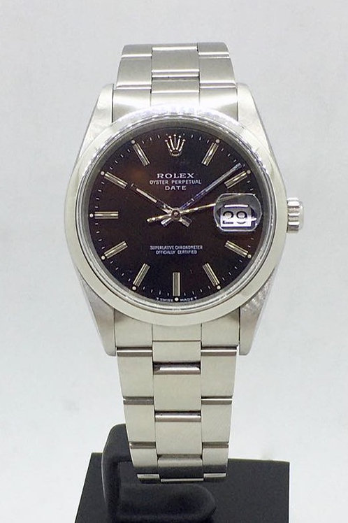 Oyster Perpetual Date 34mm