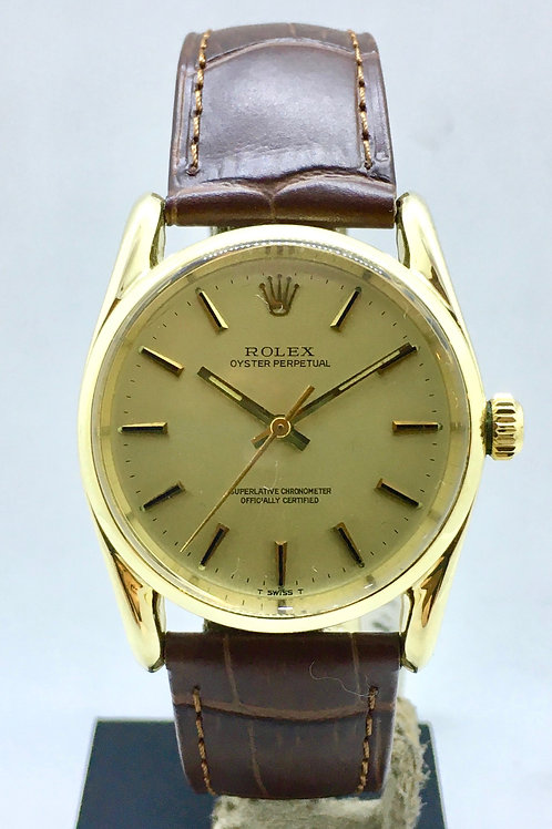 Oyster Perpetual Bombay 14Kt guld