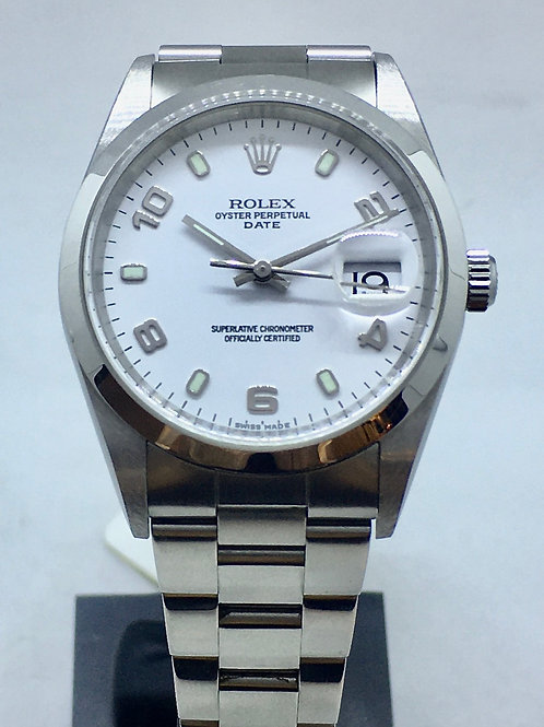 Oyster Perpetual Date 34.5 mm