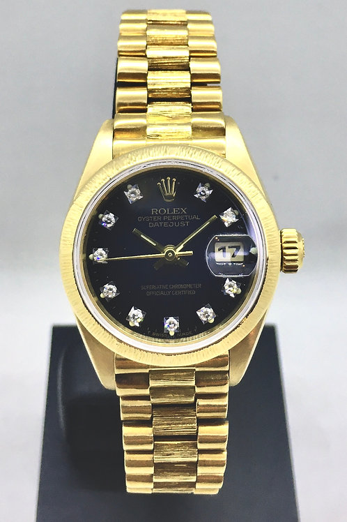 Datejust 26 mm Guld m.diamanter