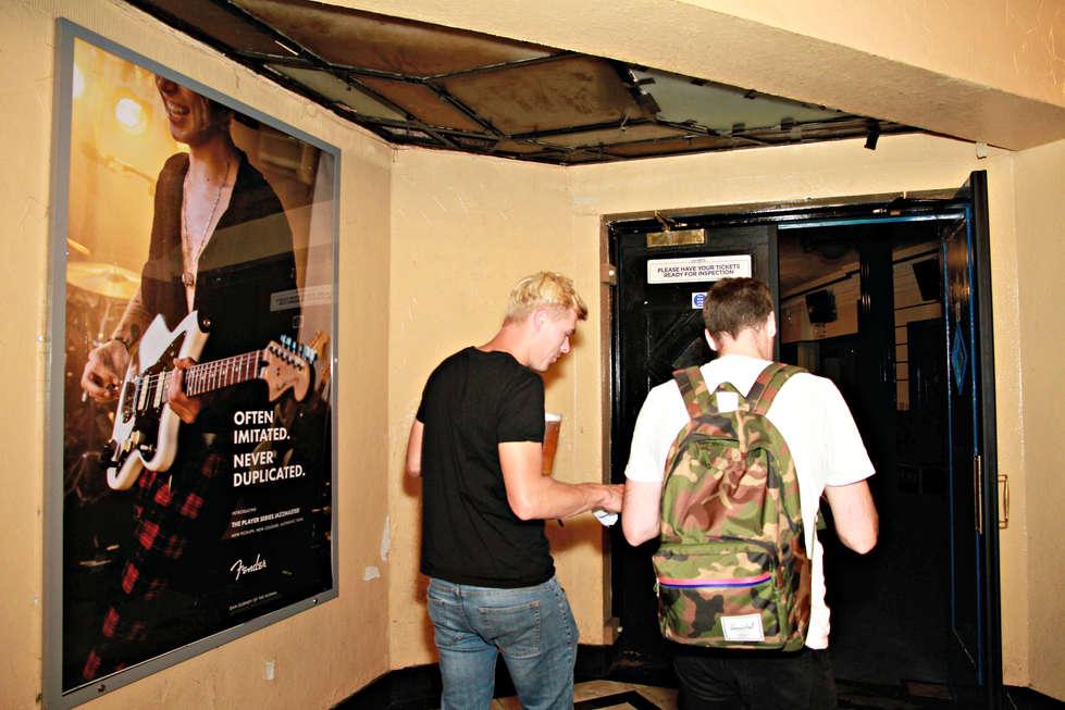 Music venue poster