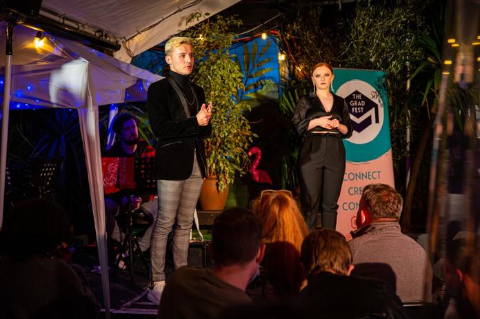 Liam Gartland & Alice Croft, The Grad Fest founders