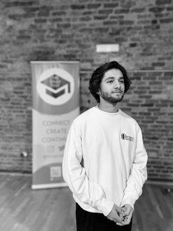 Lucca Chadwick-Patel, GSA 2021 Graduate