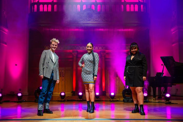 Luke, Grace & Courtney