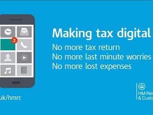 Finally...HMRC Announcement re. Making Tax Digital.