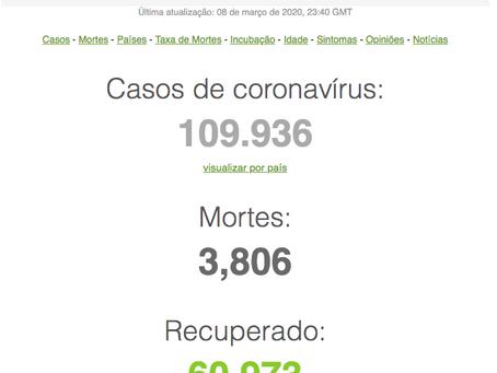 Mais uma de coronavírus