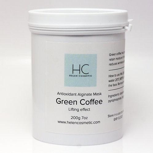 Alginate Mask Green Coffee 200g 7oz
