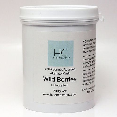 Alginate Mask Wild Berries 200g 7oz