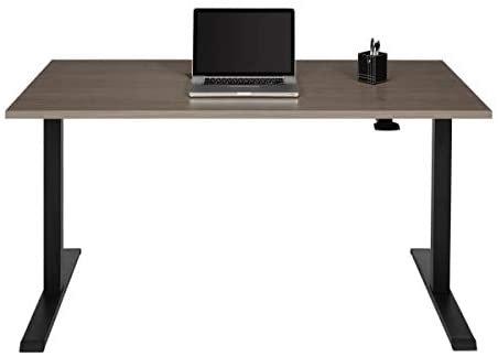 Realspace Magellan Pneumatic Height-Adjustable Standing Desk