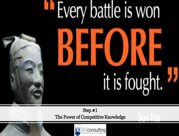 Step #1: Power of Competitive Knowledge