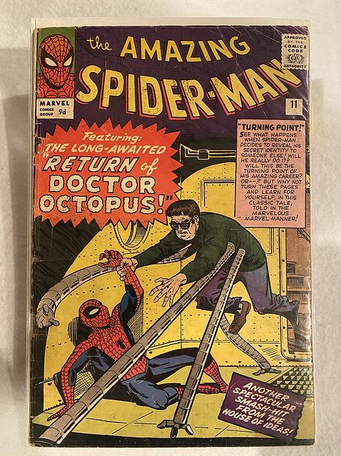 Amazing Spider-Man 11 - UK variant