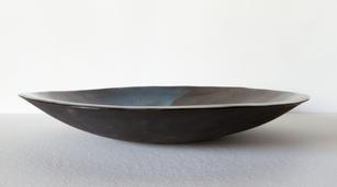 Deep Blue Fruit Plate (large)