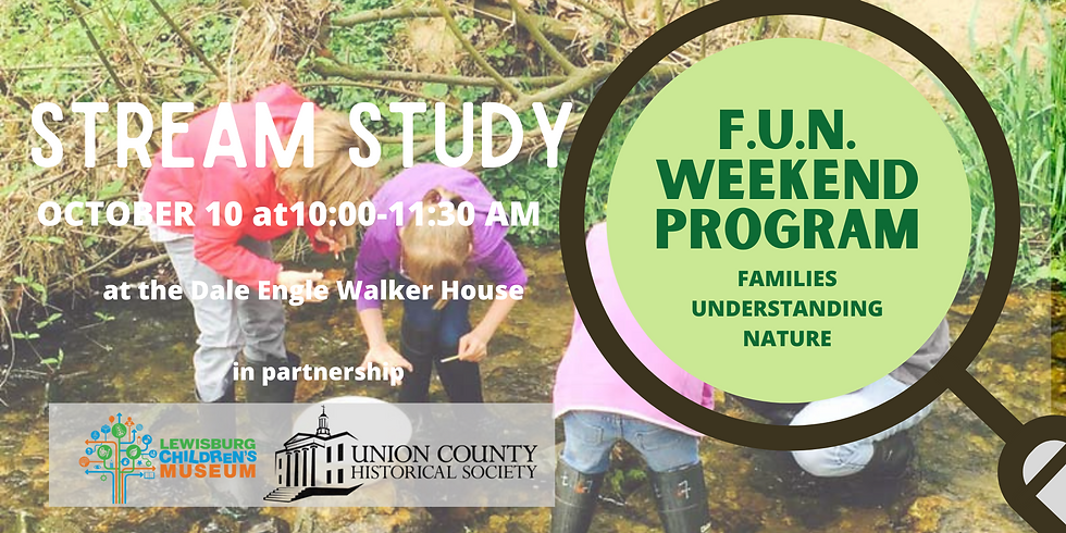 FUN Weekend Program: Stream Study