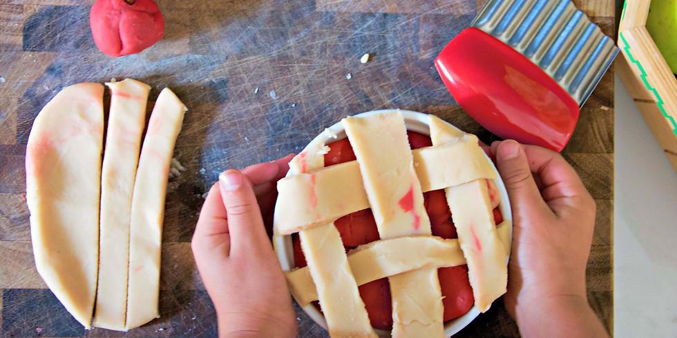 Apple Pie Play-doh