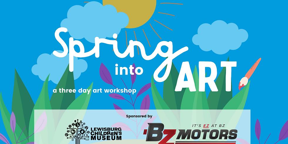 Spring into Art Workshop