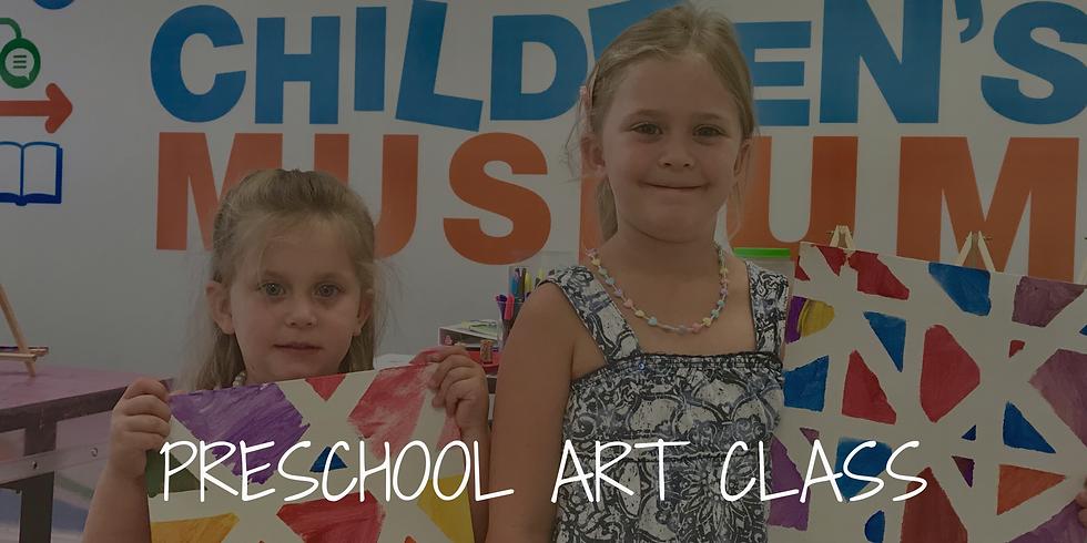 Preschool Art Class (1)