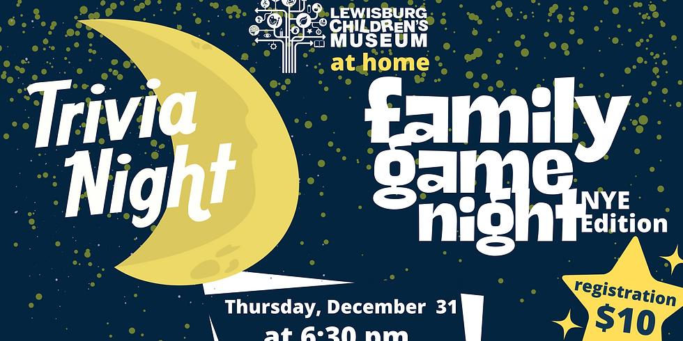 Virtual Family Game Night: NYE Edition