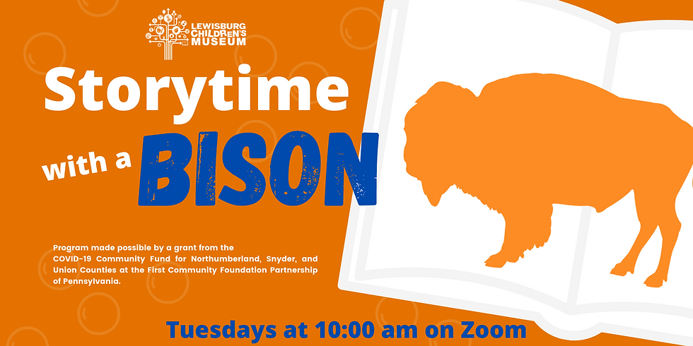 Storytime with a Bison 3/30/21