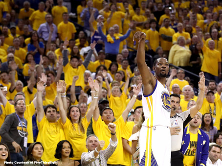 Kevin Durant Displaying Dominance in the NBA Finals