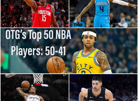 The Top 50 NBA Players 2019-2020 V.1: 50-41