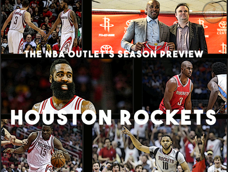 THE NBA OUTLET PREVIEW SERIES: HOUSTON ROCKETS