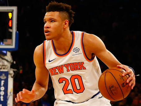 Time for Kevin Knox to Remain in the Starting Lineup