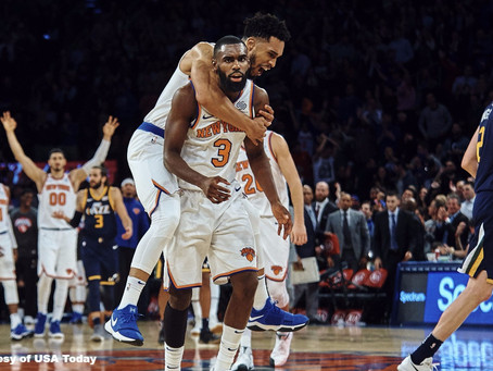 Evaluating the New (and Improved) New York Knicks