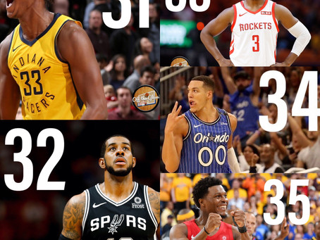 The Top 50 NBA Players Entering the 2019-20 Season: 35-31