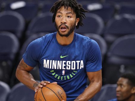 2018-19 Off the Glass Breakout Player Series: Derrick Rose