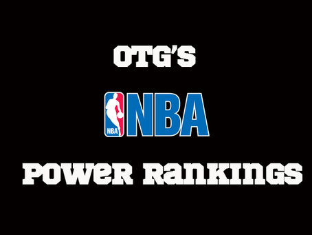 December's NBA Power Rankings