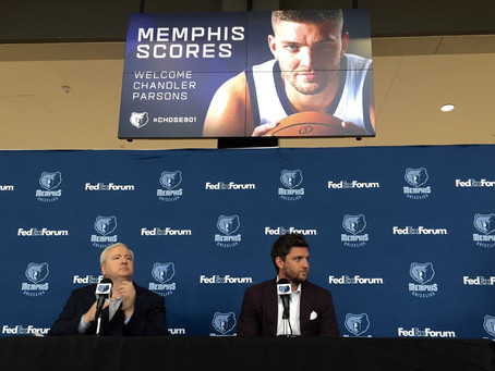 How Chandler Parsons Can Take the Grizz to Another Level
