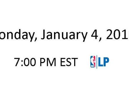 NBA Games of the Week (Jan 4 – Jan 10)