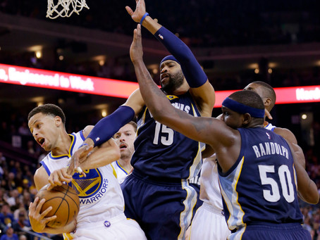 Top 5 Players in the Warriors vs. Grizzlies Series
