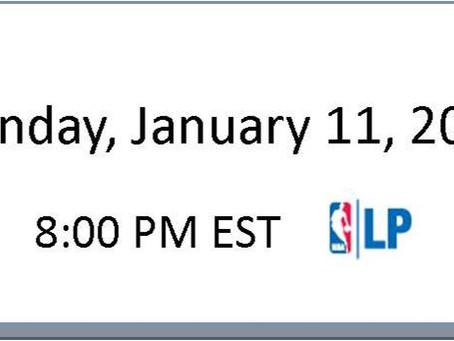 NBA Games of the Week (Jan 11 – Jan 17)