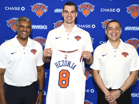 Potential Breakout Players for the New York Knicks