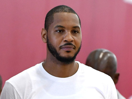 Breaking: Carmelo Anthony Agrees To Deal With Houston Rockets