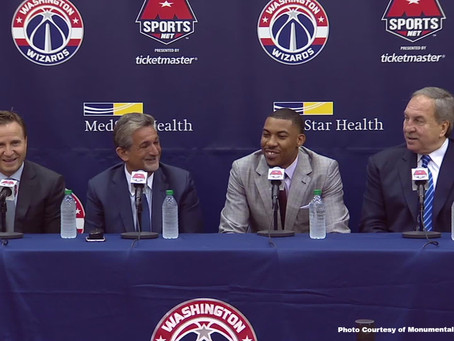 The Wizards Are Salary Capped out, but Aren't Championship Ready Yet