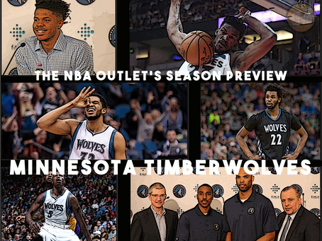 THE NBA OUTLET PREVIEW SERIES: MINNESOTA TIMBERWOLVES