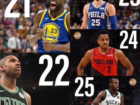 The Top 50 NBA Players Entering the 2019-2020 Season: 21-25