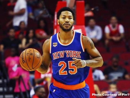Derrick Rose Fitting in New York