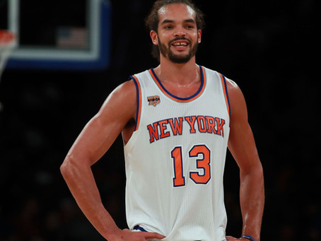Joakim Noah is Home in New York