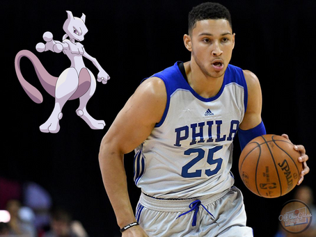 The Philadelphia 76ers as Pokemon