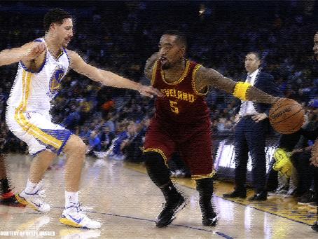 NBA Finals 2017: J.R. Smith vs. Klay Thompson