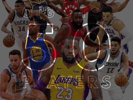 OTG's Top 50 NBA Players: 10-1