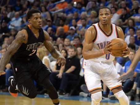 White-Hot Westbrook Carries Thunder to 3-0 Start