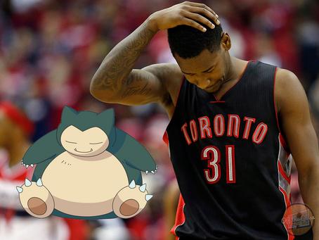 The Toronto Raptors as Pokemon