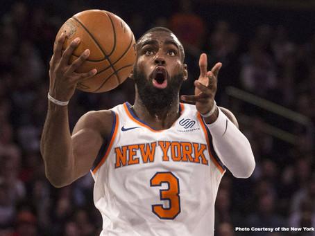 Tim Hardaway Jr. Is Thriving on the Knicks