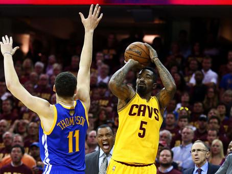 NBA Finals Matchup: JR Smith vs. Klay Thompson