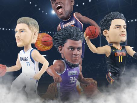 FOCO NBA ROOKIE BOBBLEHEADS
