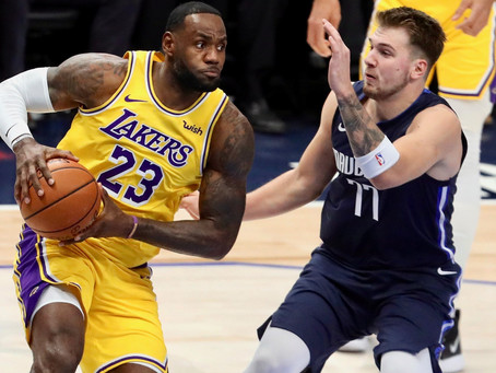 Through Blood and Bruise, Luka Doncic Shows LeBron Who's Next